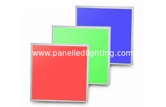 Multi color changing RGB LED Panel Light , 600x600 led square panel light